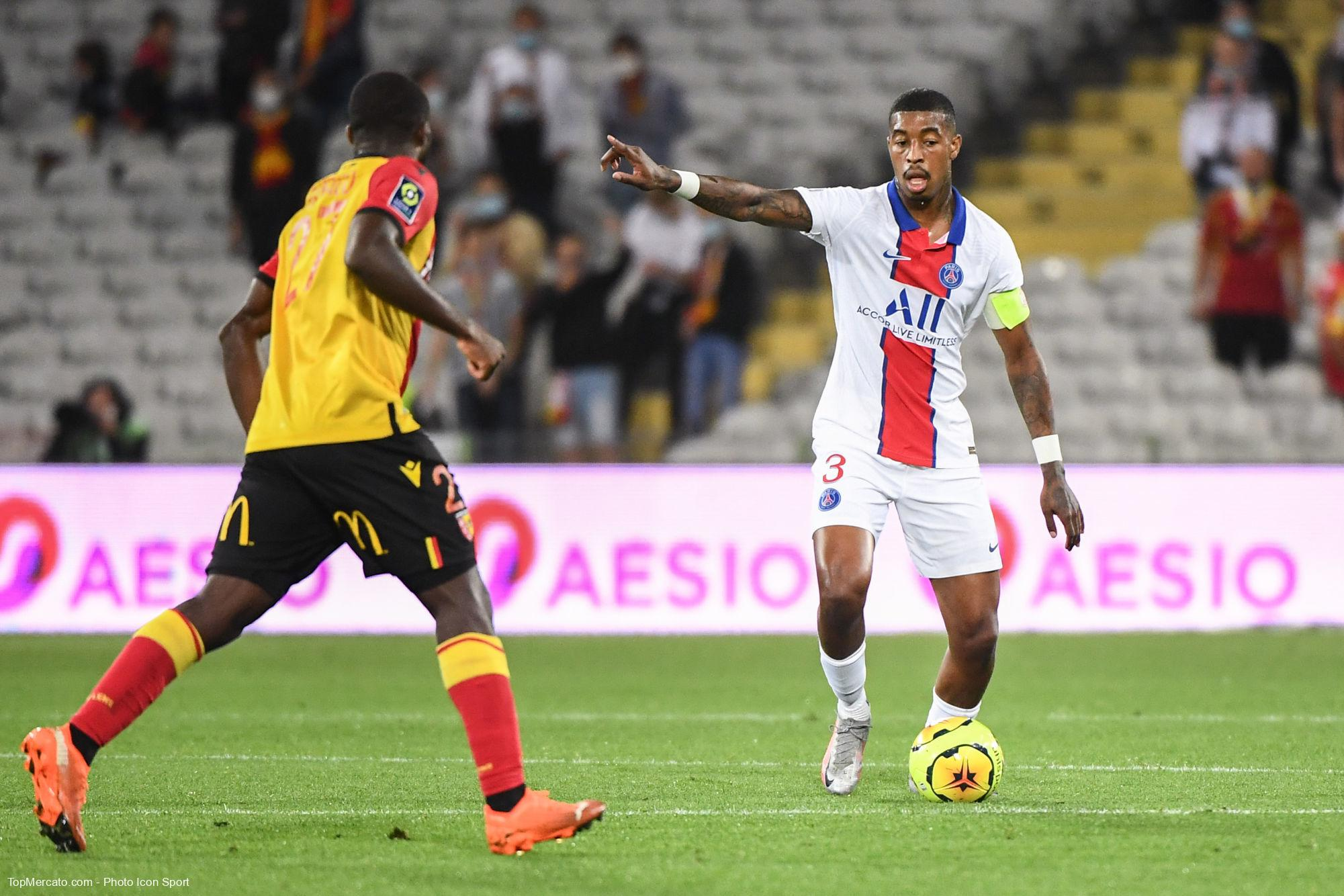 Presnel Kimpembe, RC Lens - Paris Saint-Germain