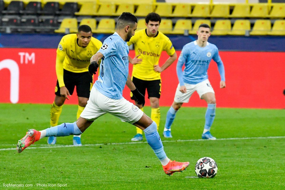 Riyad Mahrez, Borussia Dortmund-Manchester City