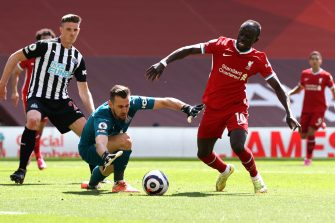 Sadio Mané, Liverpool-Newcastle