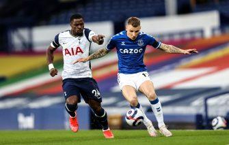 Serge Aurier et Lucas Digne, Everton-Tottenham