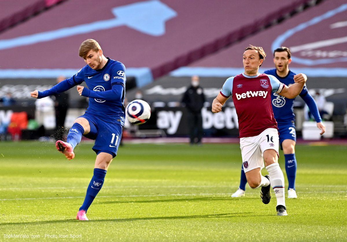Timo Werner, West Ham United-Chelsea
