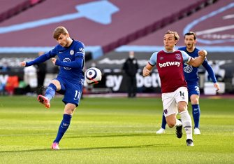 Timo Werner, West Ham United-Chelsea