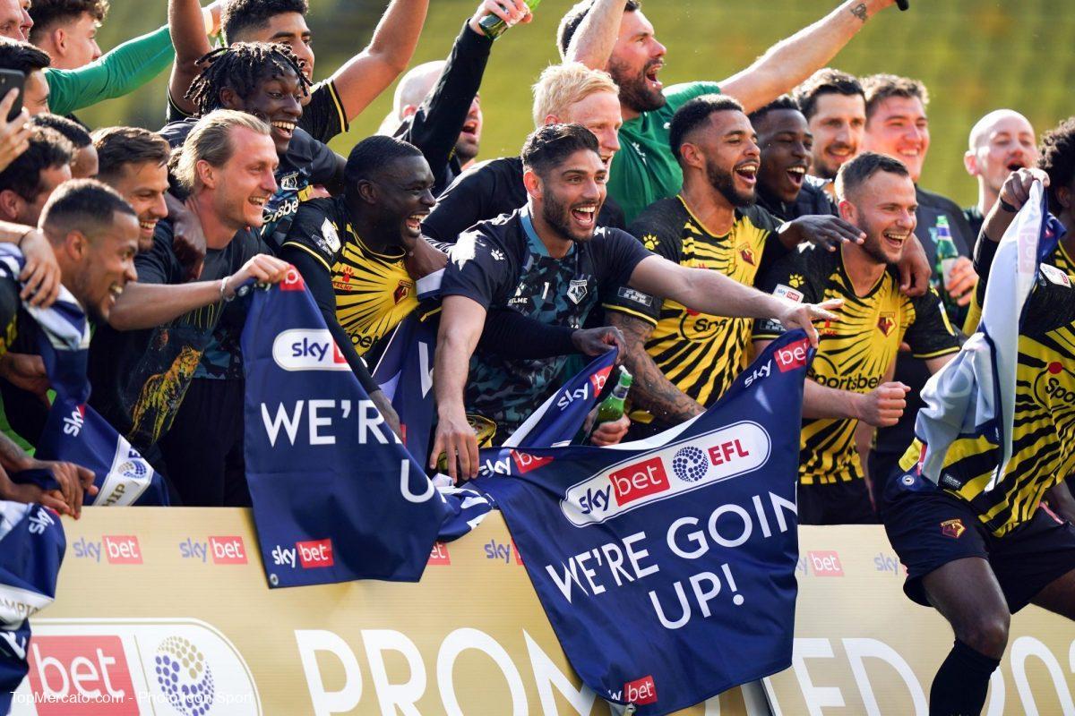 Watford, célébration, montée, Premier League