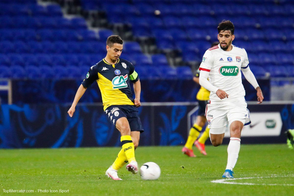 Wissam Ben Yedder et Lucas Paqueta, Lyon-ASM