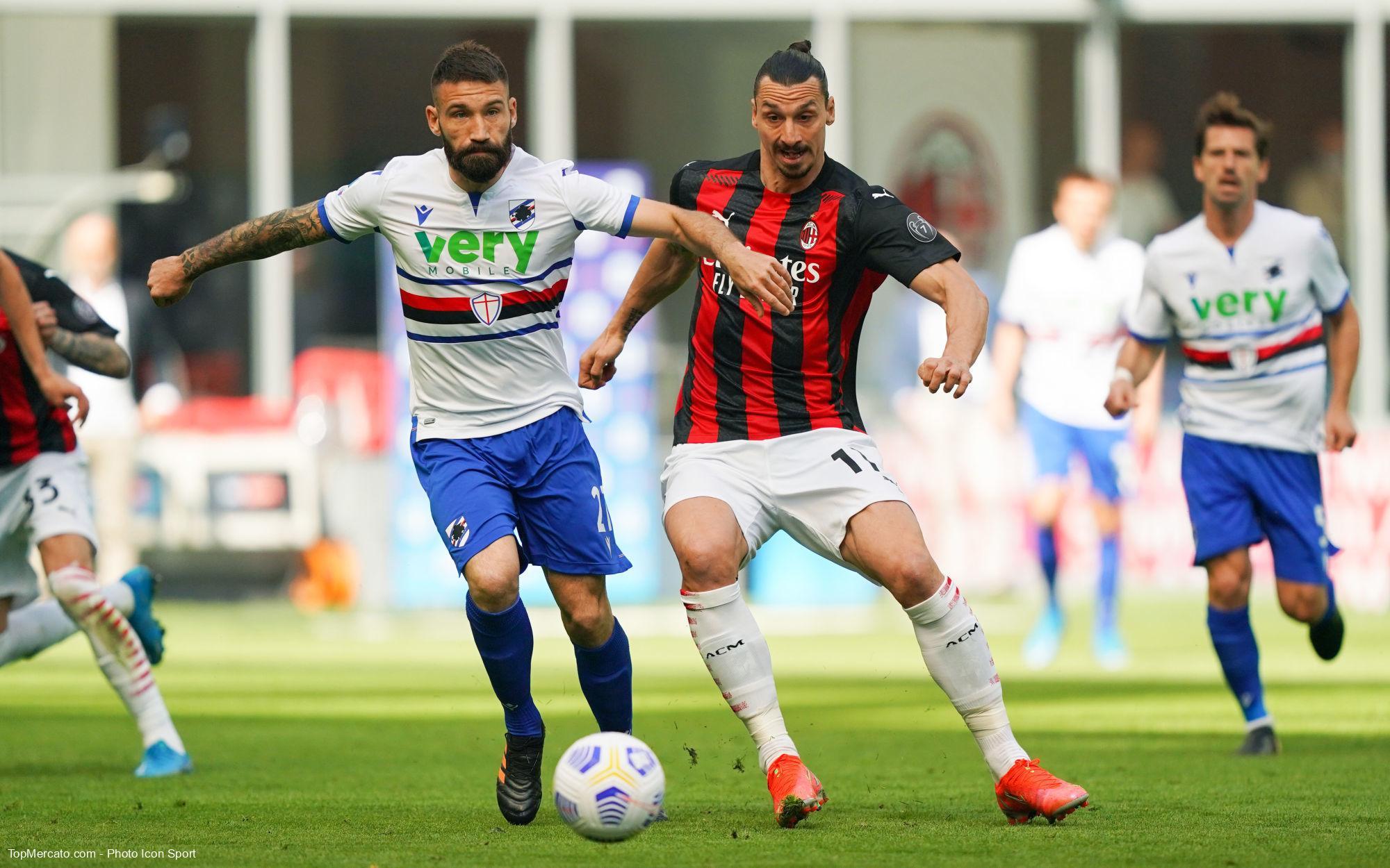 Zlatan Ibrahimovic, Milan AC-Sampdoria Gênes