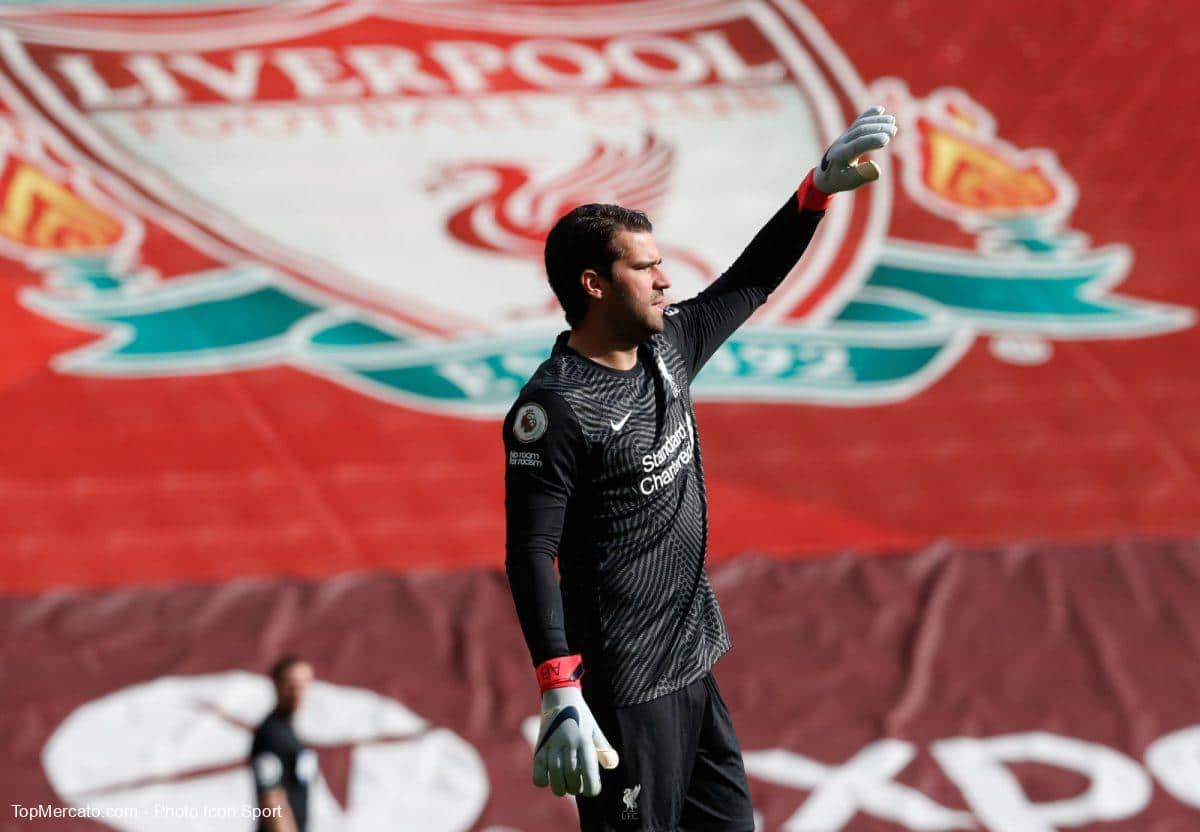 Alisson Becker, Liverpool Aston Villa