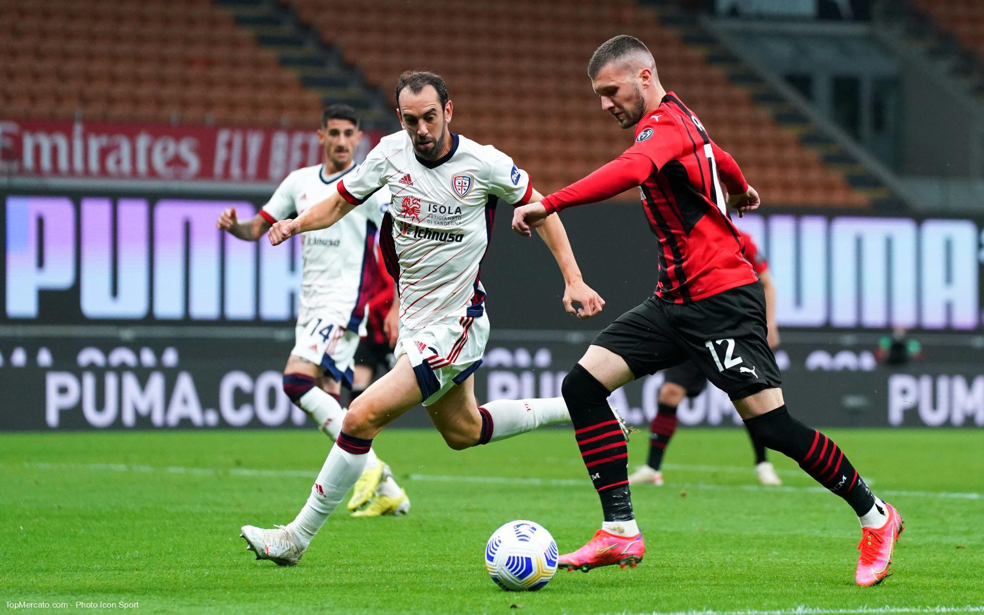 Ante Rebic, Milan AC-Cagliari