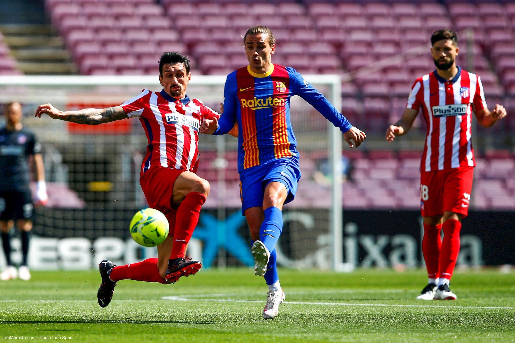 Antoine Griezmann, Barça-Atletico