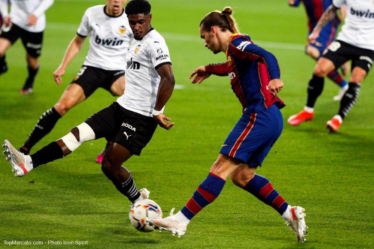 Antoine Griezmann, FC Valence-Barça