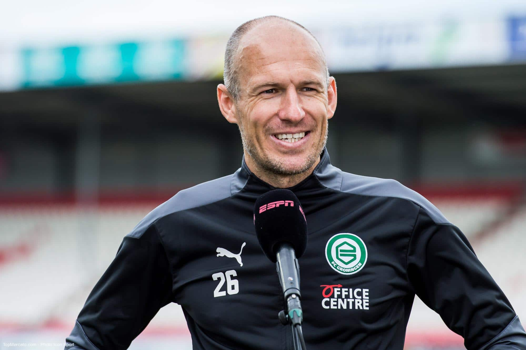 Arjen Robben, Groningue