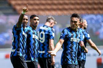 Ashley Young et Lautaro Martinez, Inter Milan