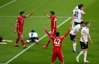 Bayern Munich-Mönchengladbach