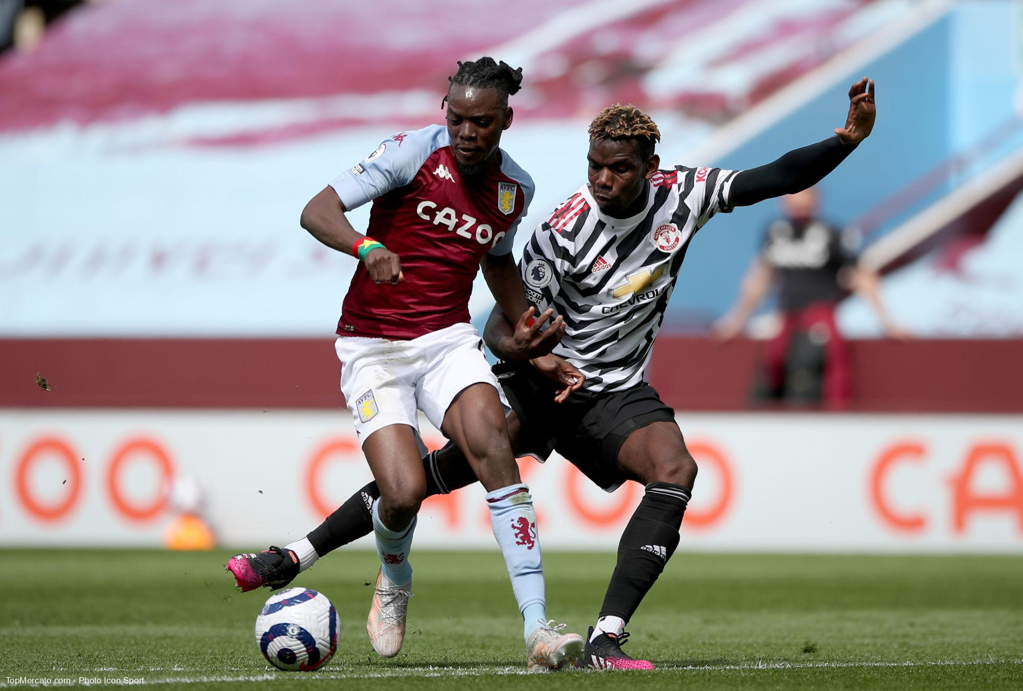 Bertrand Traoré et Paul Pogba, Aston Villa - Man. Utd
