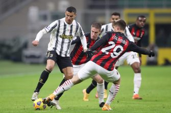 Cristiano Ronaldo, Milan AC - Juventus Turin