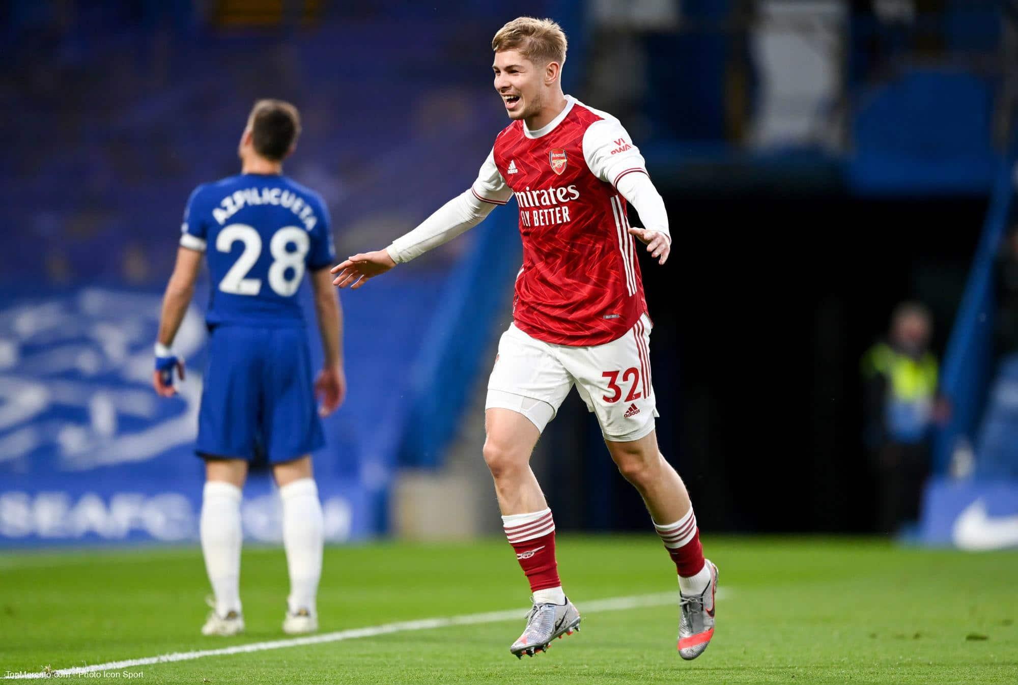 Emile Smith Rowe, Chelsea-Arsenal