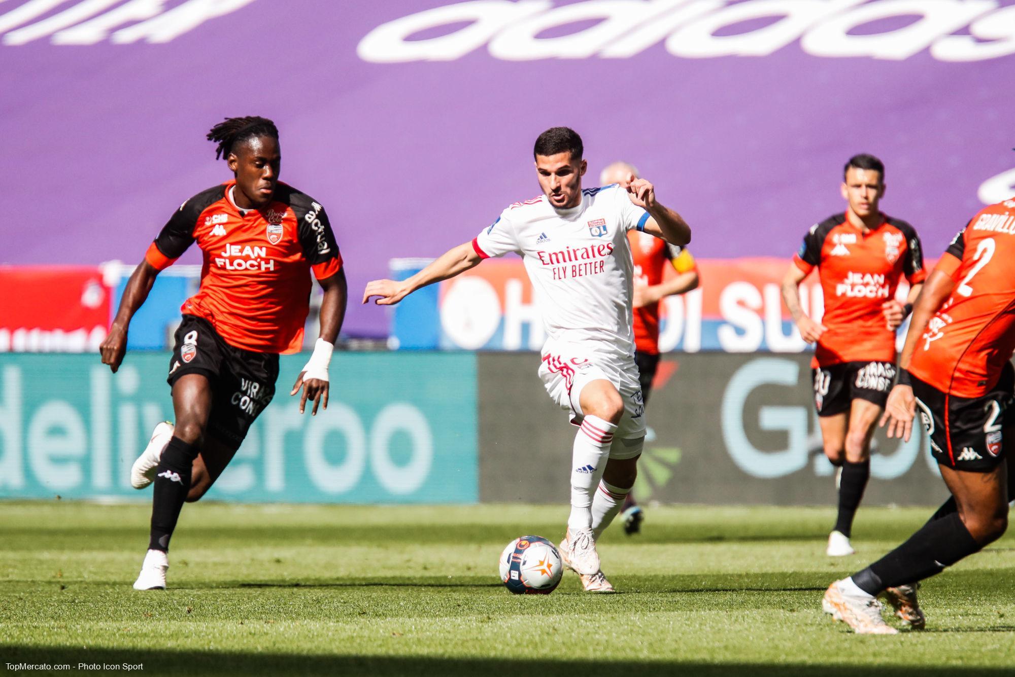 Houssem Aouar, Lyon-FCL