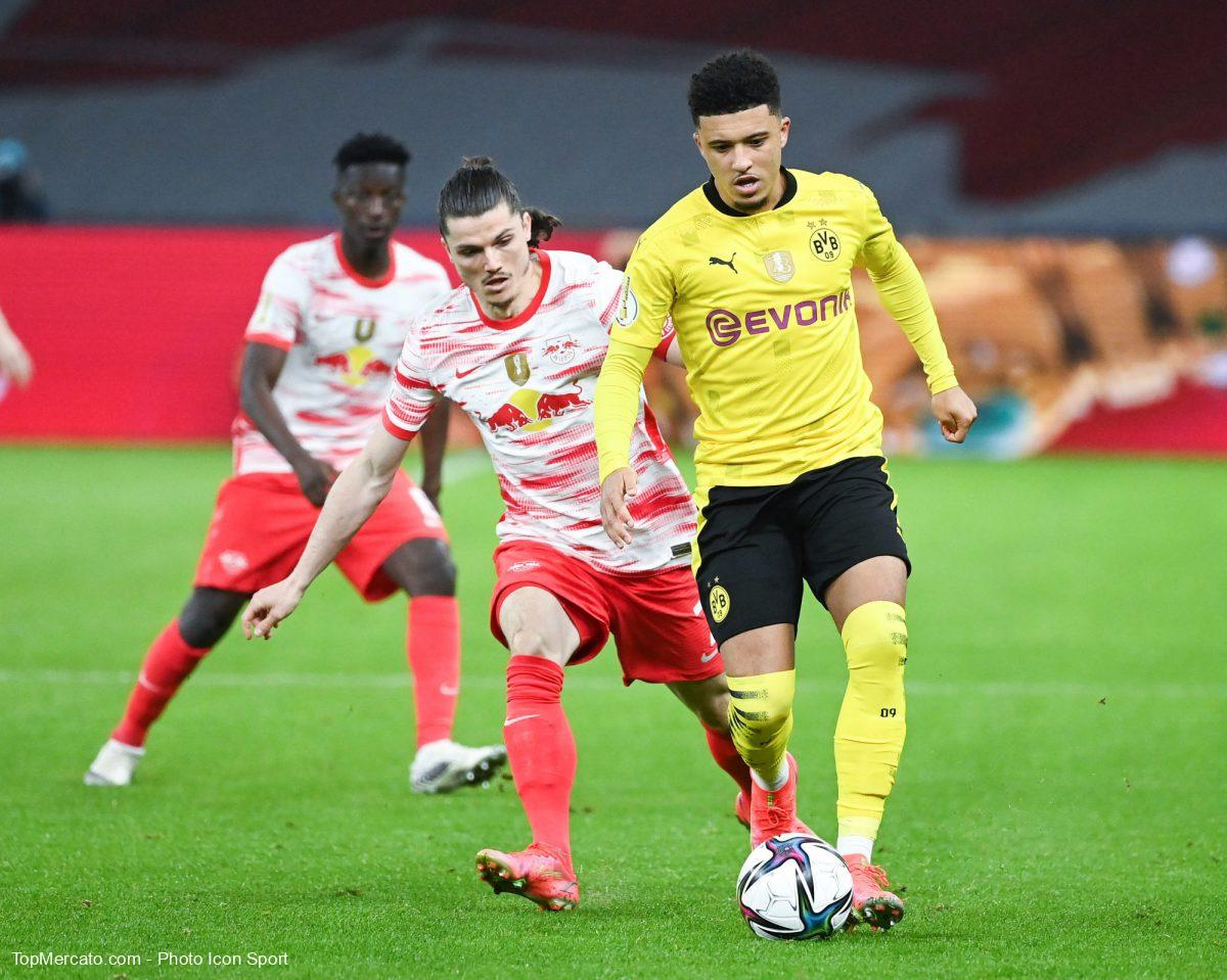 Jadon Sancho et Marcel Sabitzer, BVB-RBL