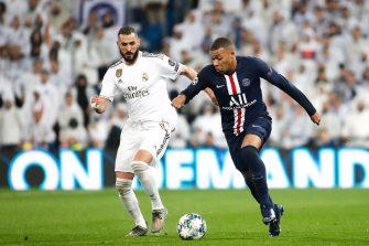 Karim Benzema et Kylian Mbappé, Real Madrid - PSG