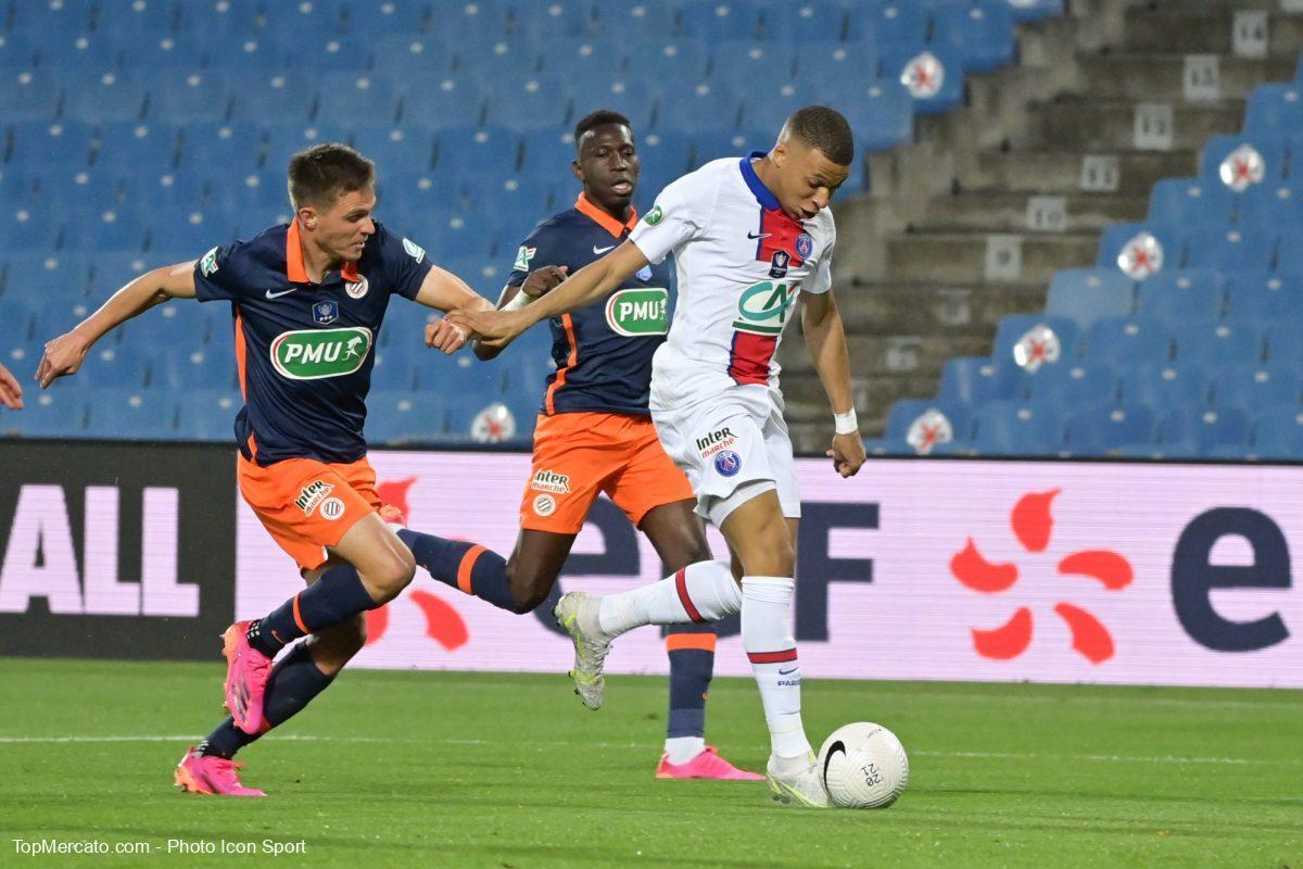 Kylian Mbappé, MHSC-Paris