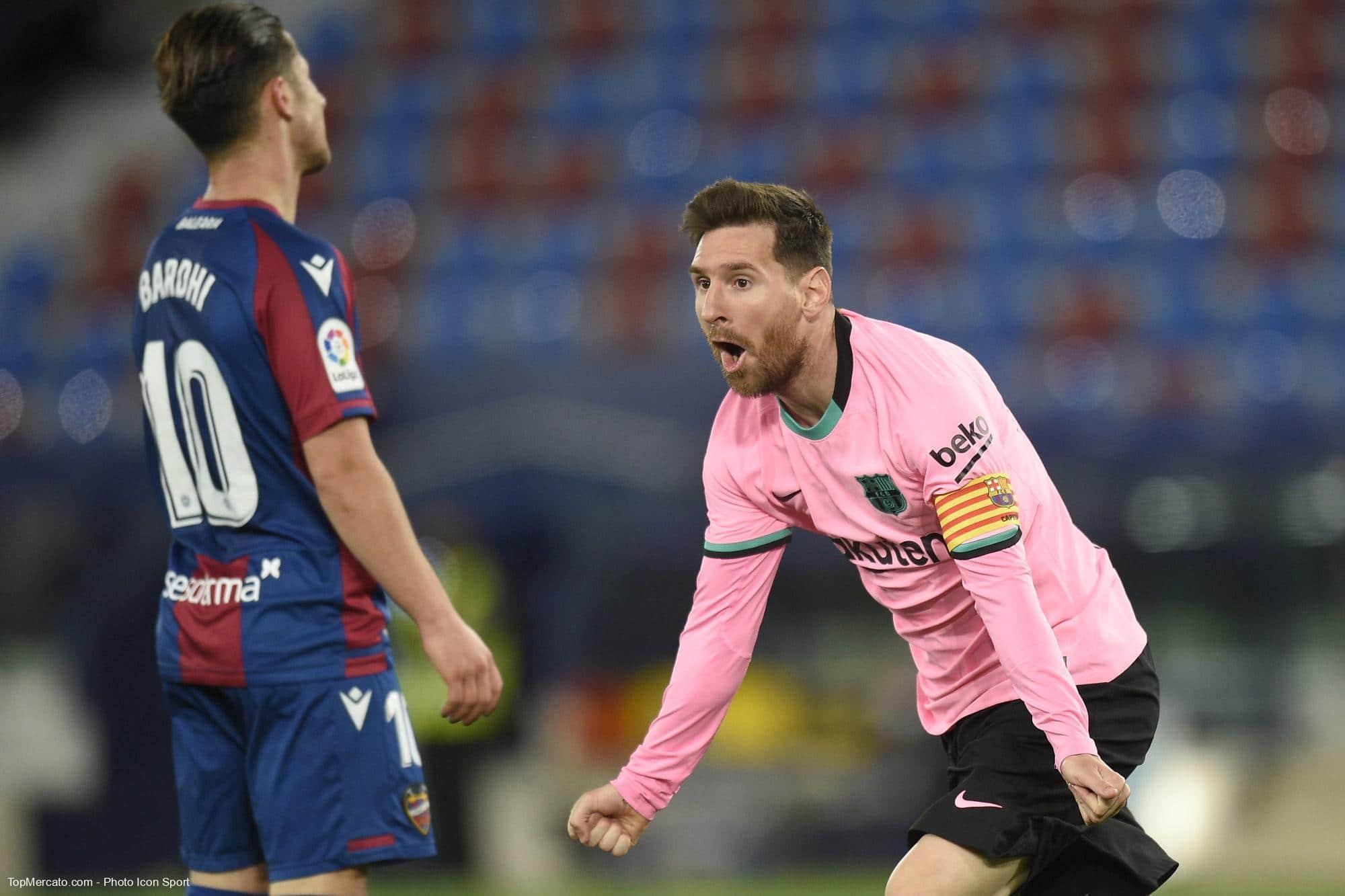 Lionel Messi, Levante-Barça