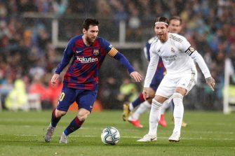 Lionel Messi, Sergio Ramos, Barça Real Madrid
