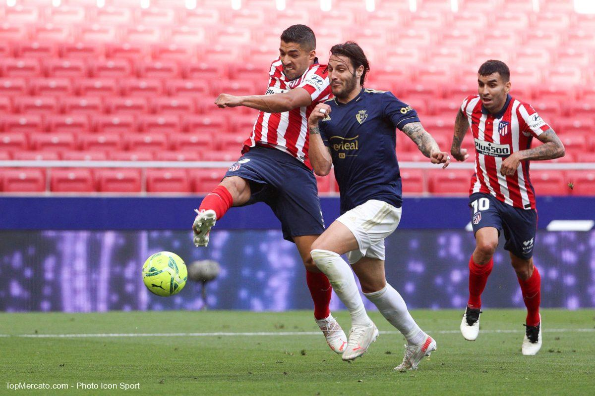 Luis Suarez, Atletico Madrid-Osasuna