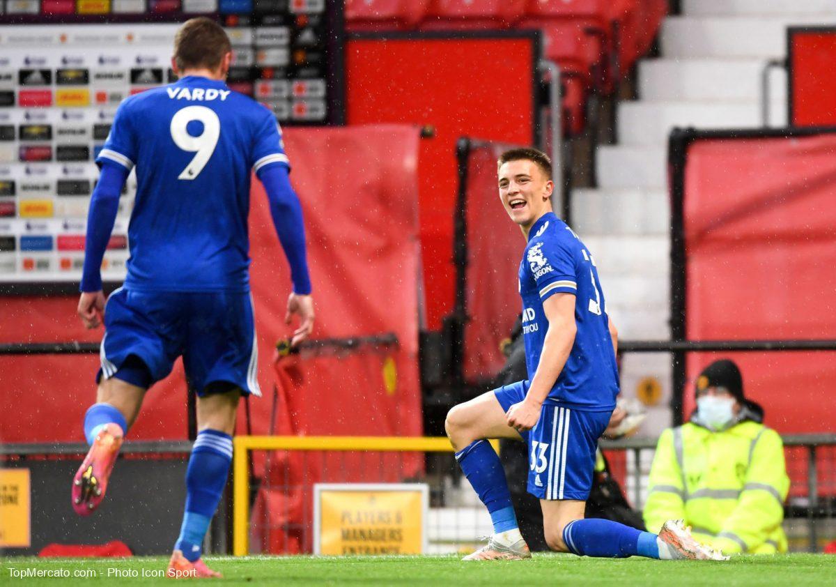 Luke Thomas, Manchester United-Leicester City