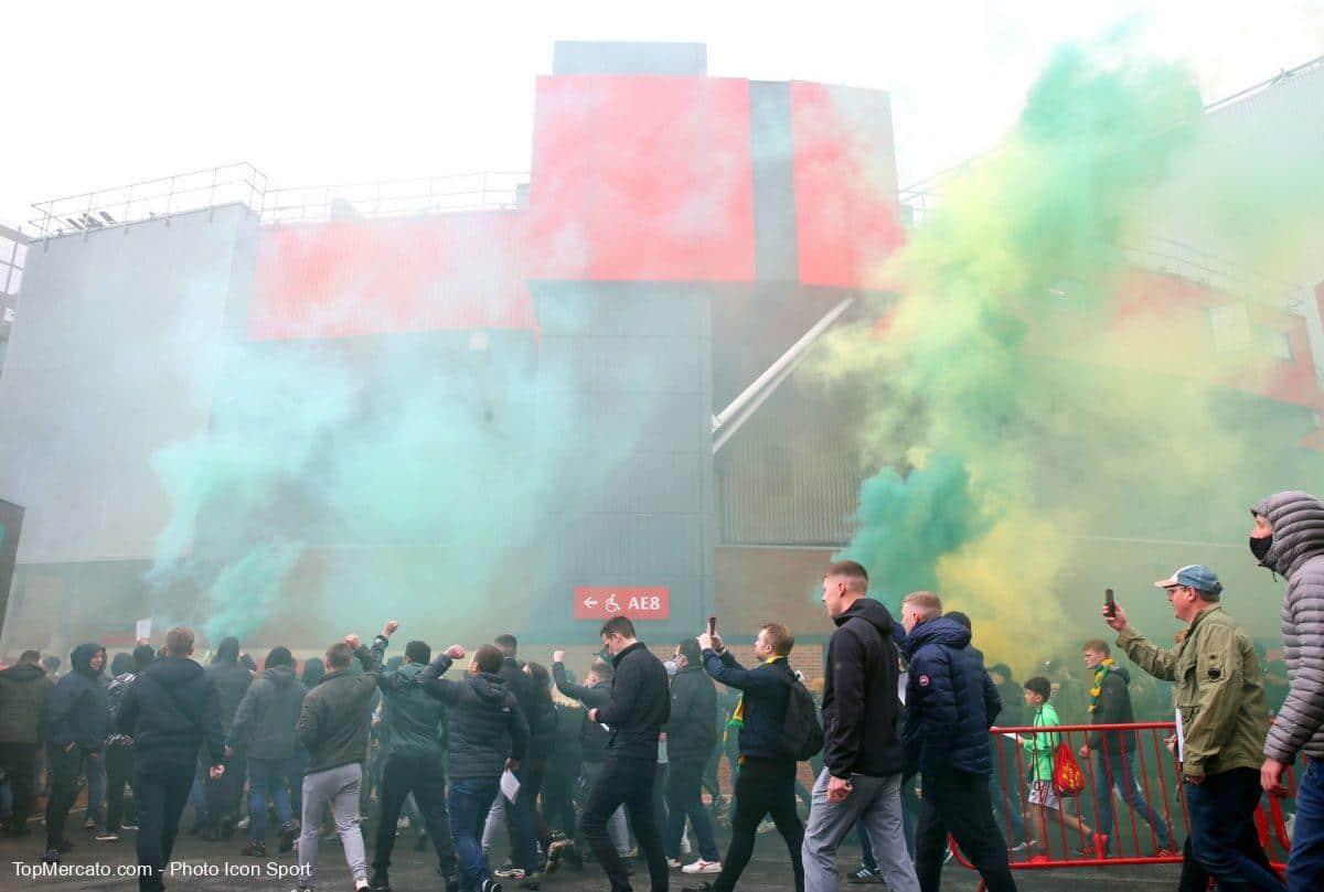 Manchester United Liverpool, colère des supporters, Super League