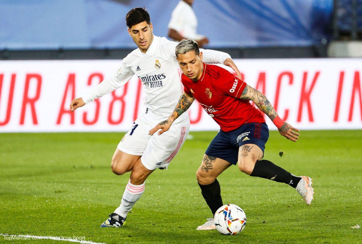 Marco Asensio, Real Madrid-Osasuna