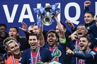 Marquinhos, Paris-ASM, Coupe de France