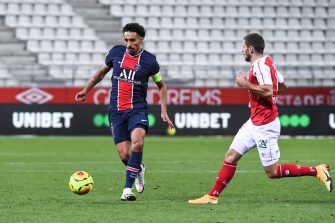 Marquinhos, Reims-Paris Saint-Germain