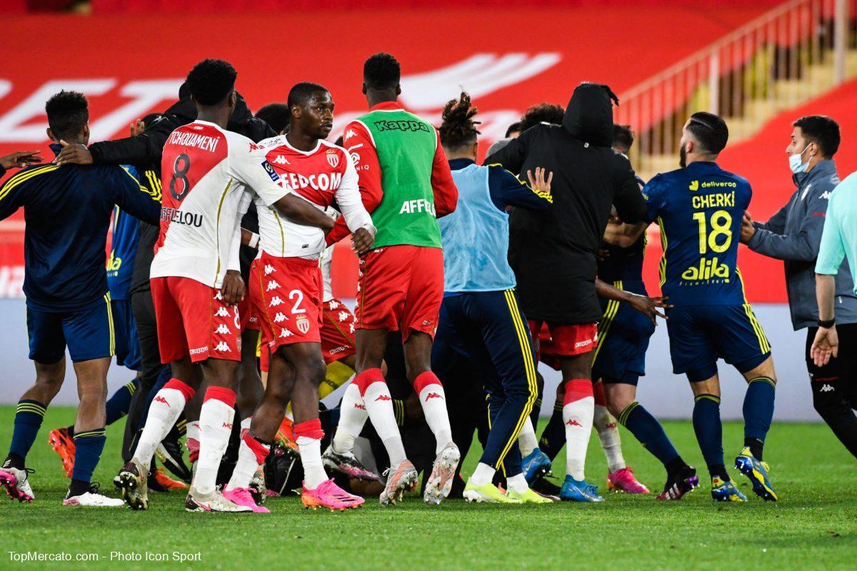 Monaco-OL, altercation