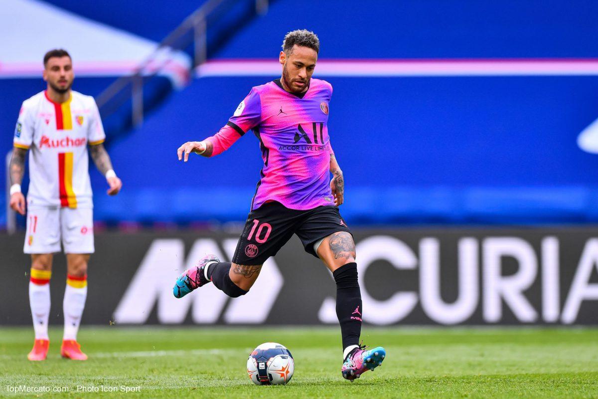 Neymar, Paris-Lens