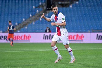 Pablo Sarabia, PSG Montpellier