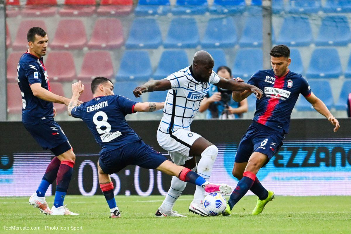 Romelu Lukaku, Crotone-Inter Milan