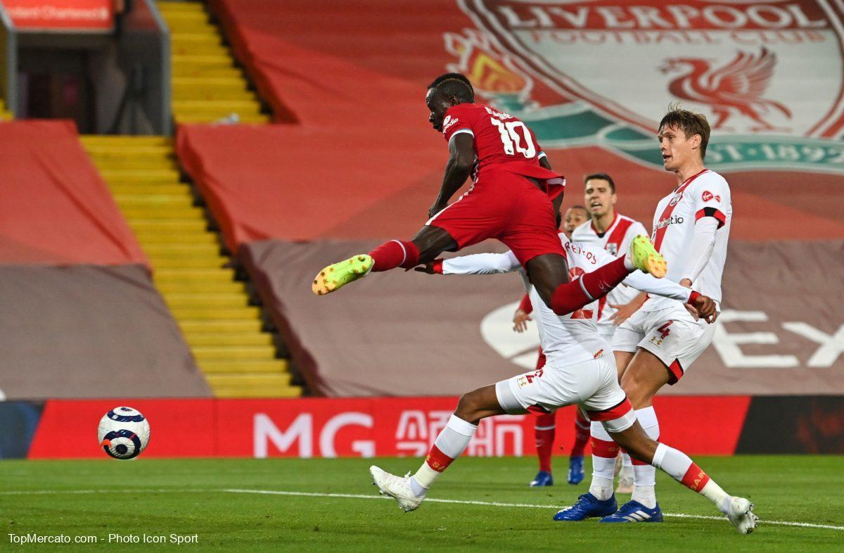 Sadio Mané, Liverpool-Southampton