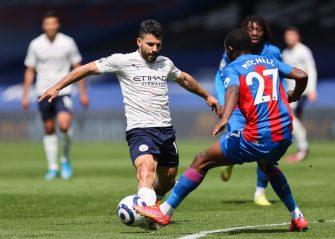 Sergio Agüero, Crystal Palace-Manchester City