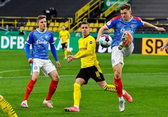 Thorgan Hazard, Borussia Dortmund-Holstein Kiel
