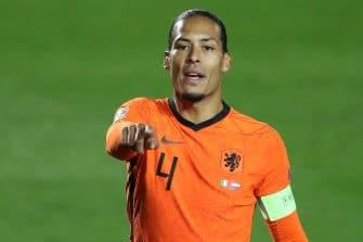 Virgil van Dijk, Pays-Bas