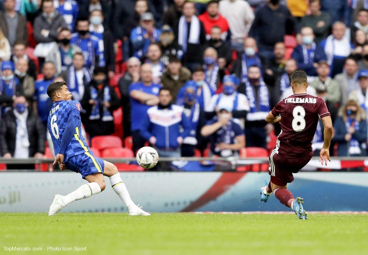 Youri Tielemans, Thiago Silva, Leicester Chelsea, Cup Finale