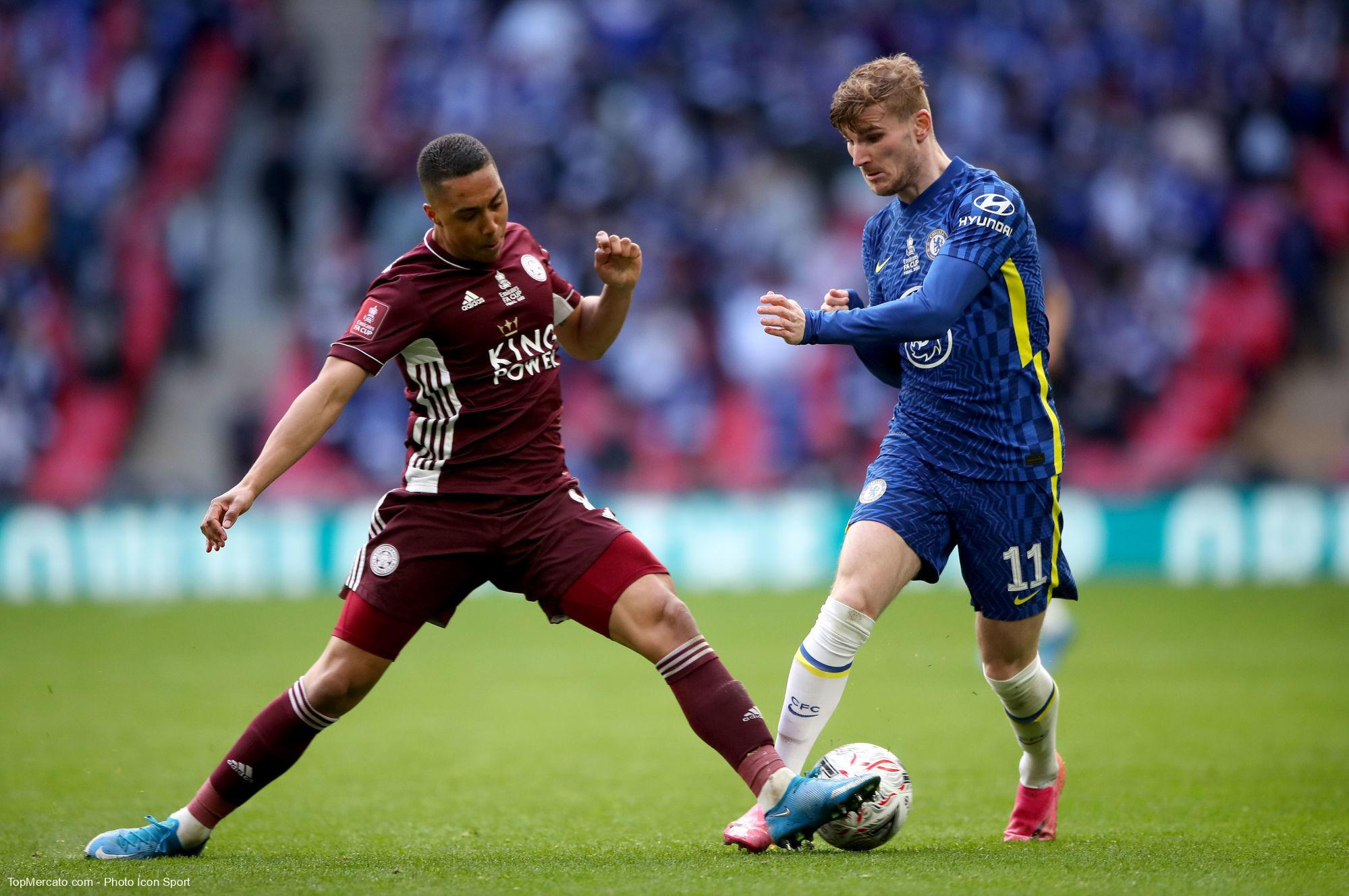 Youri Tielemans et Timo Werner, Chelsea-Leicester City