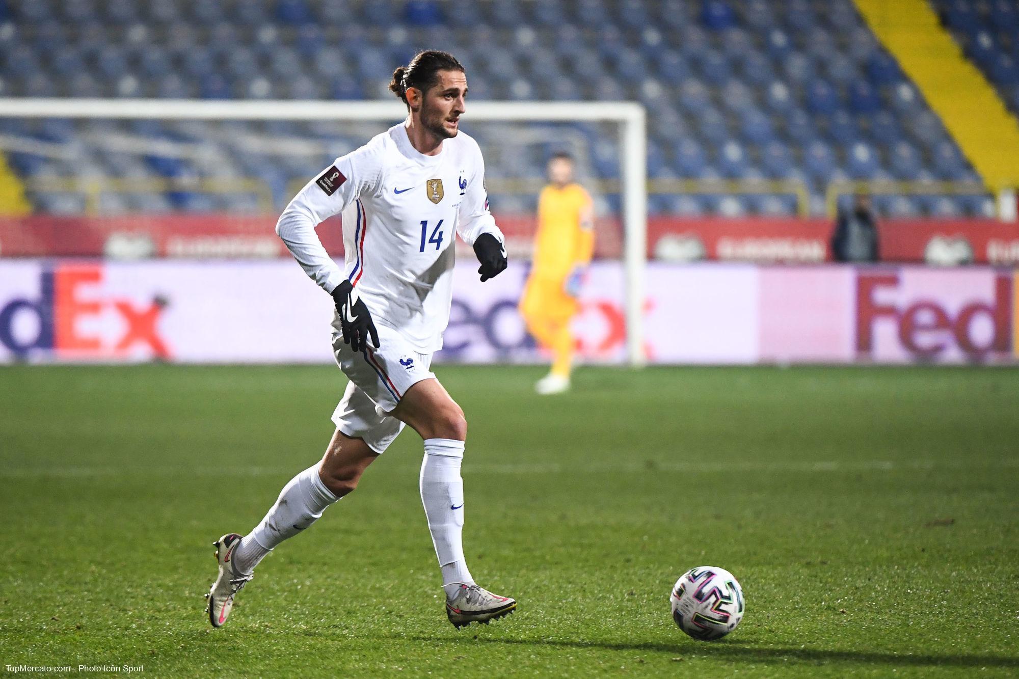 Adrien Rabiot, Equipe de France