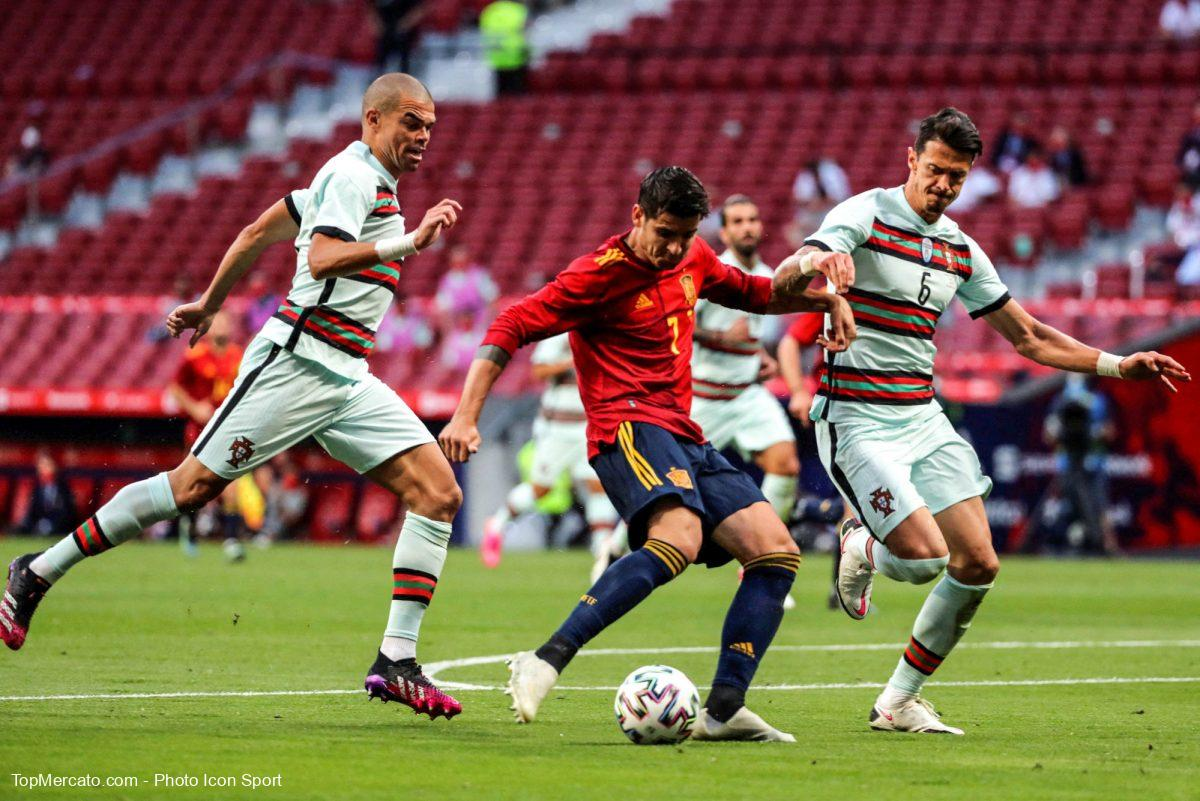Alvaro Morata, Espagne-Portugal