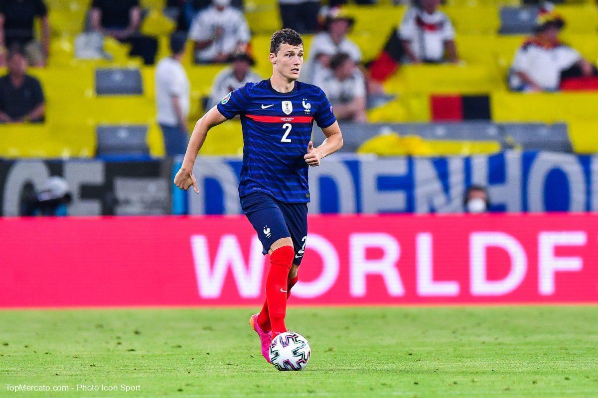 Benjamin Pavard, France-Allemagne
