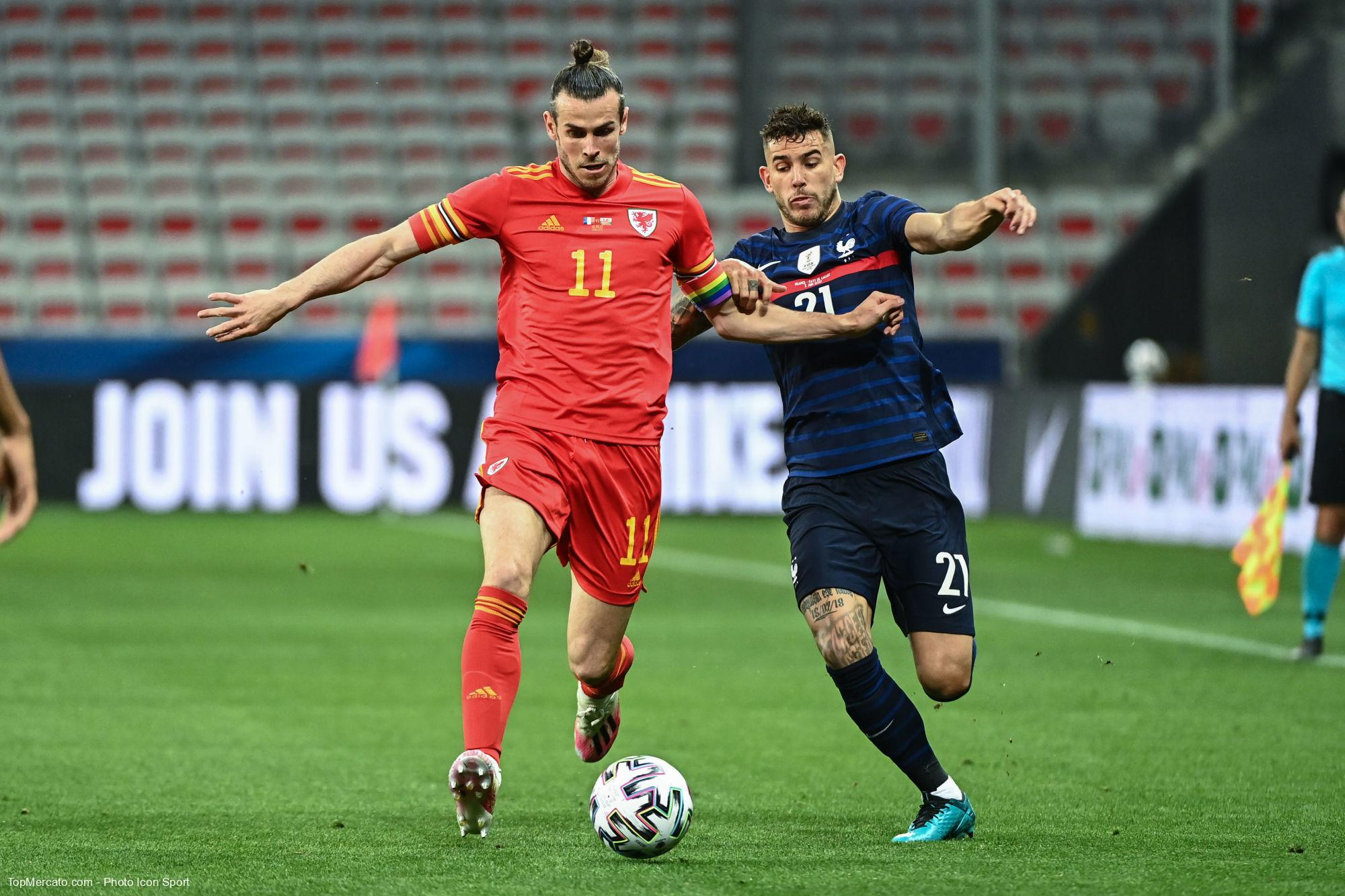 Gareth Bale, Lucas Hernandez, France - Pays de Galles