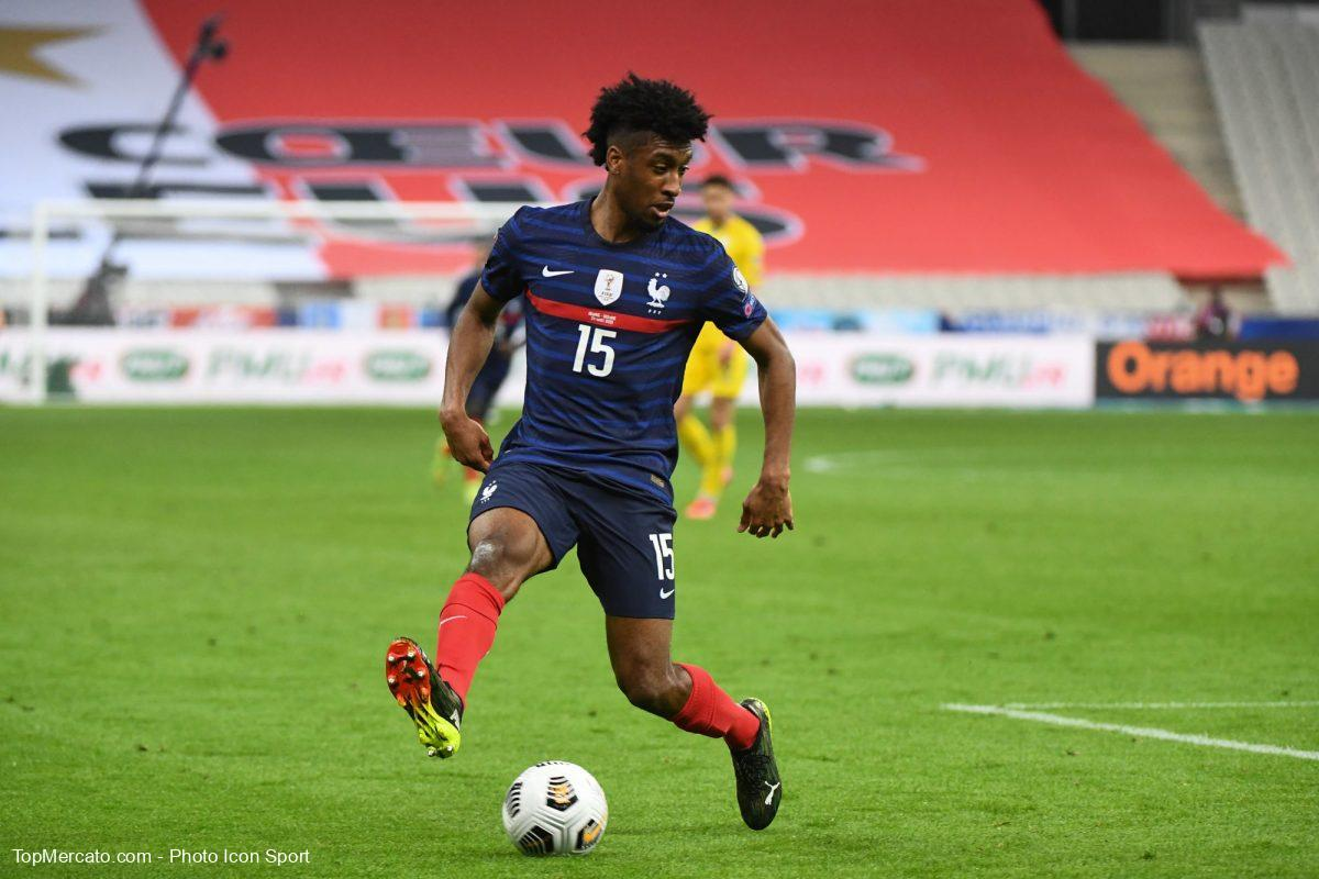 Kingsley Coman, Equipe de France
