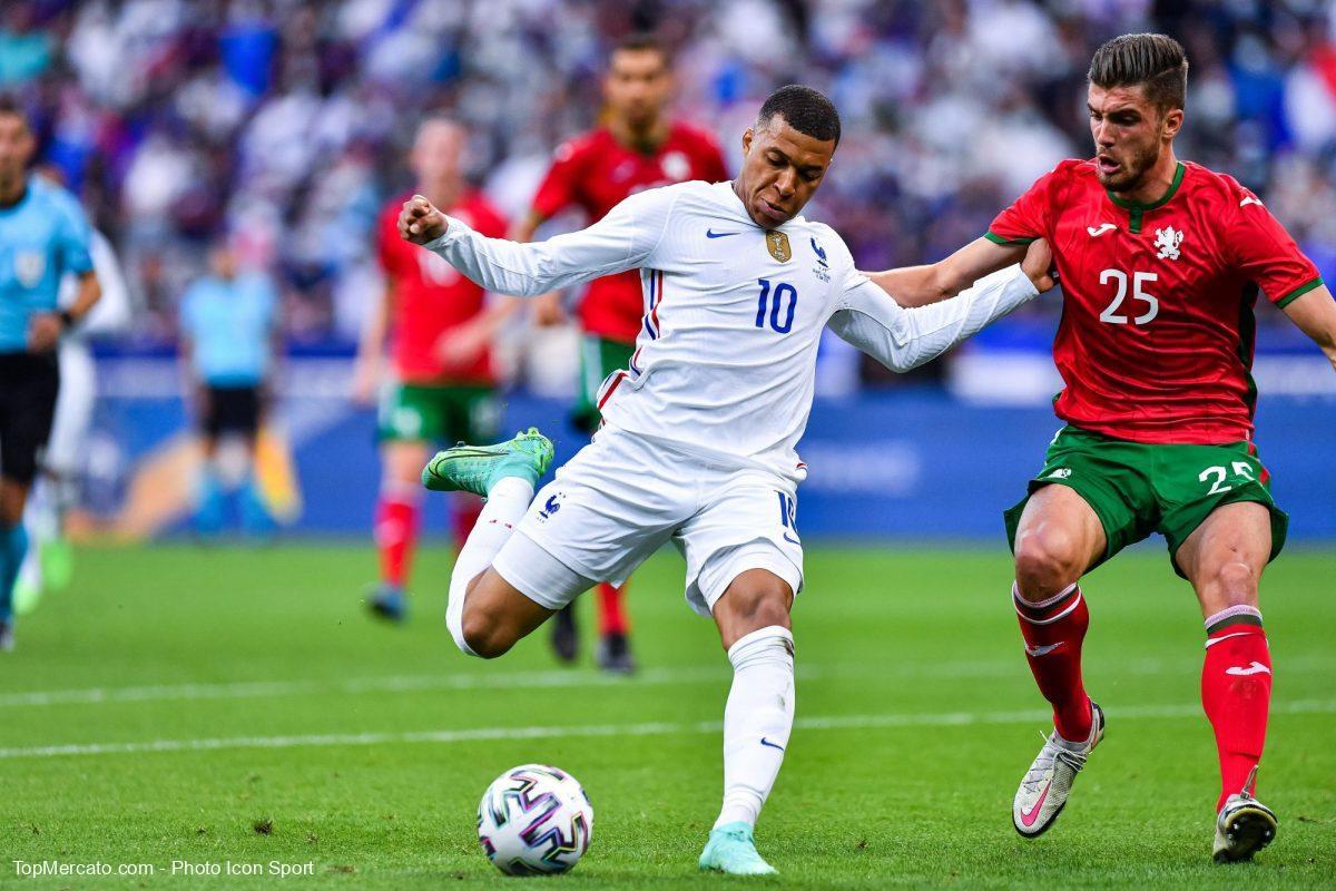 Kylian Mbappé, France-Bulgarie