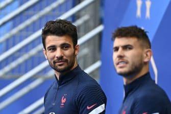 Léo Dubois et Lucas Hernandez, équipe de France