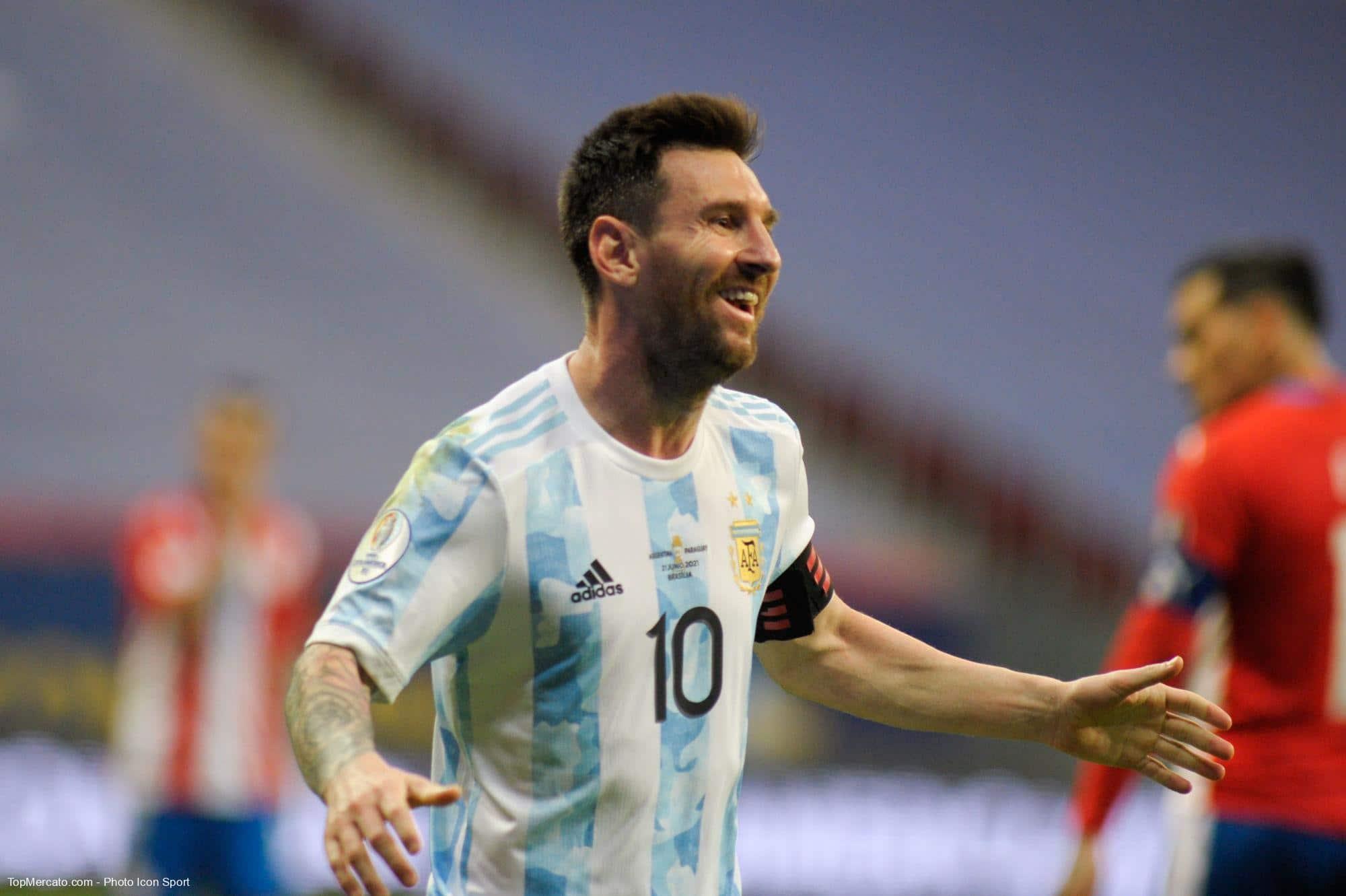 Lionel Messi, équipe d'Argentine