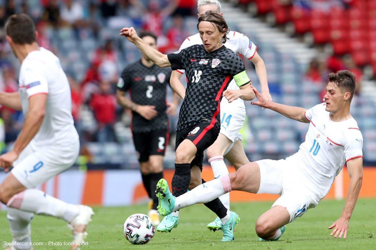 Luka Modric, Croatie-République Tchèque